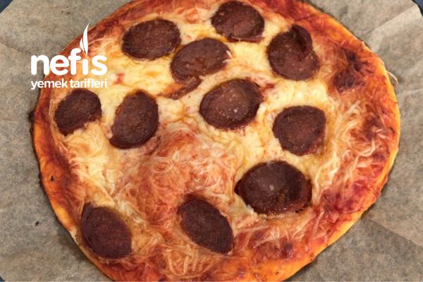 Dondurucu Pizzası Pişirmeden Üst Üste Koy Dondur (Videolu)