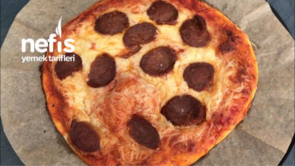 Dondurucu Pizzasi pisirmeden ust uste koy dondur  (videolu)