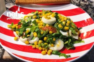 En Doyurucu Salata (Yumurtalı) Tarifi