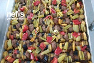 Fırında Sebzeli Köfte Tarifi