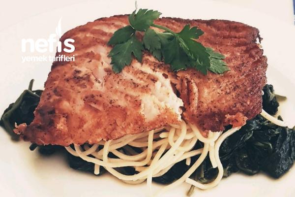 Ispanaklı Somon Balığı Tarifi