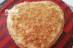 Kalp Şeklinde Müthiş Pastam Tarifi