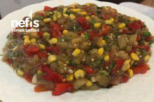 Köz Sebze Salatası Tarifi