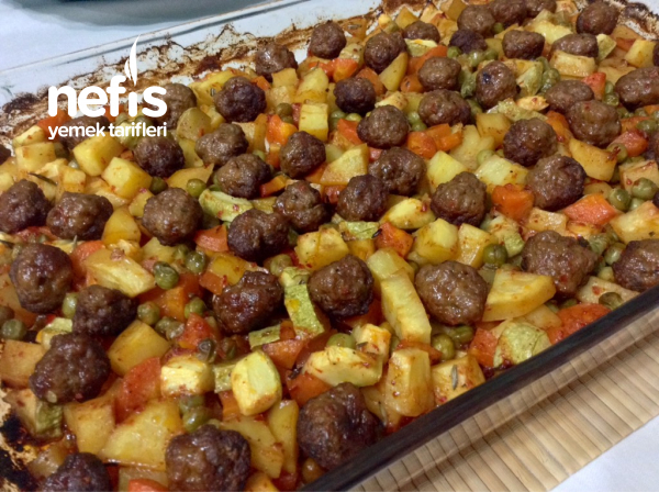 Muhteşem Şipşak Misket Köfteli Sebze Kebabı
