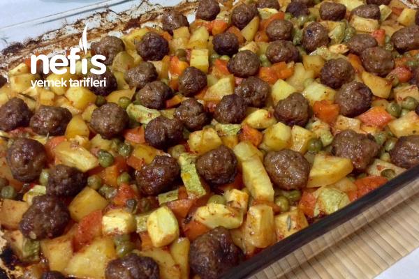 Muhteşem Şipşak Misket Köfteli Sebze Kebabı Tarifi