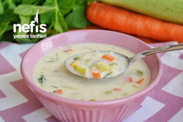 Sebzeli Krema Çorbası