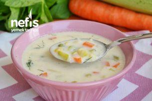 Sebzeli Krema Çorbası (videolu) Tarifi