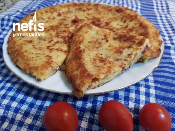 Bayar Ekmek Pide Omleti (böreği)