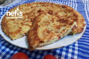 Bayat Ekmek Pide Omleti (Böreği) Tarifi