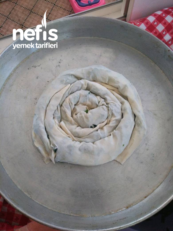 Çok Kolay El Acmasi Ispanaklı Börek