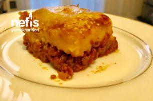 Fransız Yemeği Fırında Kıymalı Patates Püresi (Hachis Parmentier) Tarifi