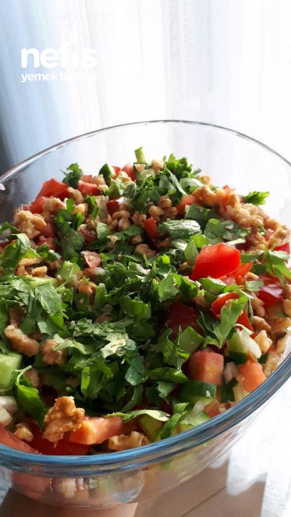 Gavurdağ Salatası (iftara Özel Nar Ekşili Nefis Tat)
