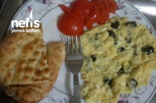 Kahvaltılık İçin Pratik Omlet Tarifi