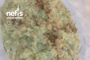 Dereotlu Kabak Salatası Tarifi