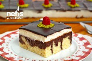 Borcamda 15 Kişilik Yaş Pasta Tarifi (videolu)