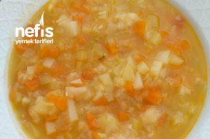Bahar Çorbası 9  Bebekler İçin ( Karışık Sebze Çorbası ) Tarifi