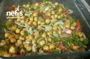 Gaziantep Usulü Nohut Salatası Tarifi