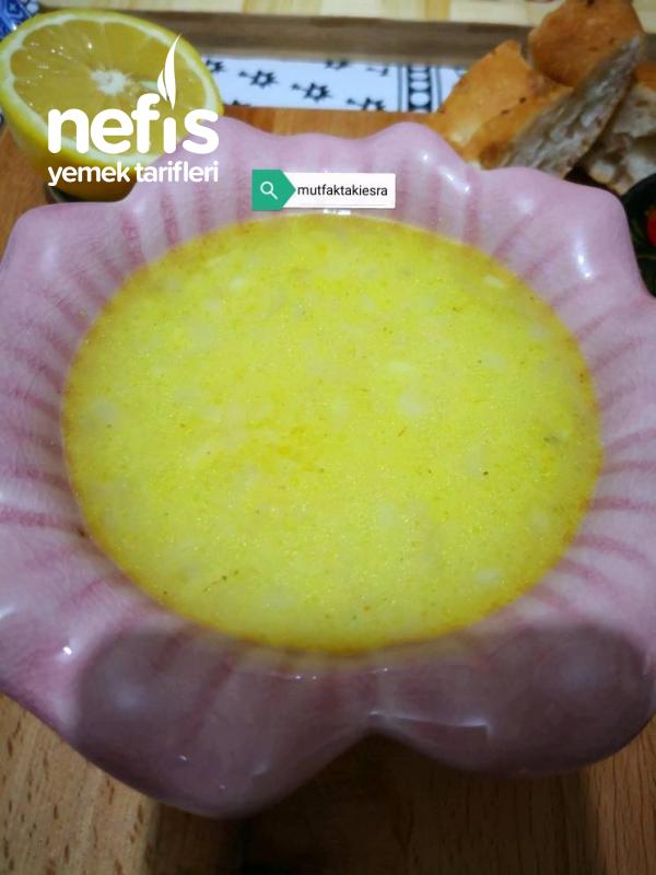 Kremalı Limon Çorbası