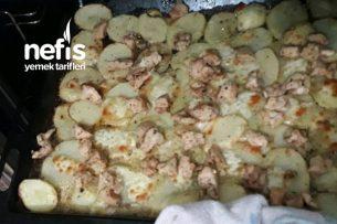 Kremalı Fırında Patates Tarifi