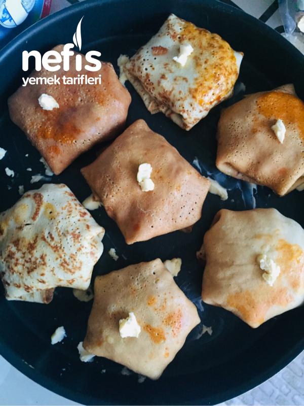Krep Kebabı (krepli Bohça)