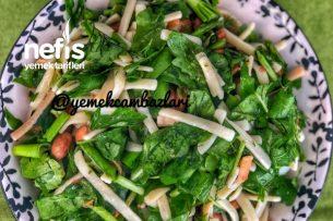 Meksika Fasulyeli Erişte Salatası Tarifi
