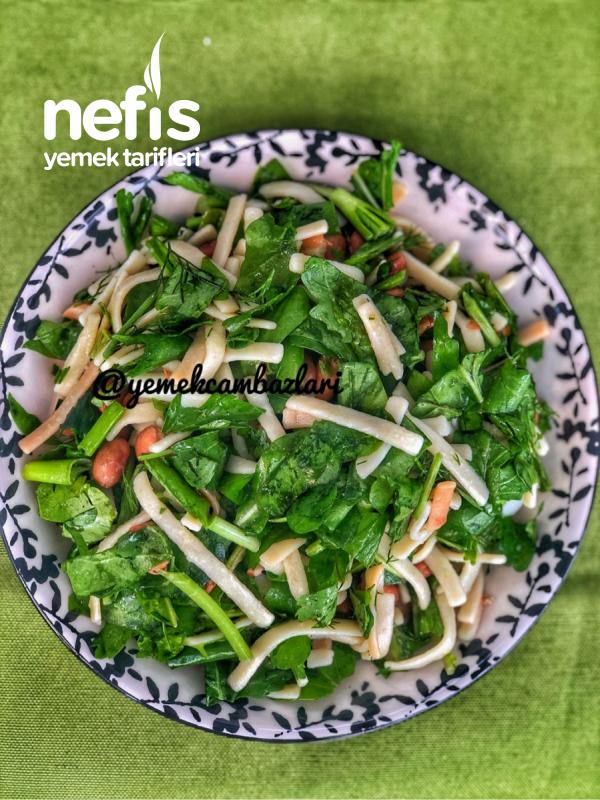 Meksika Fasulyeli Erişte Salatası