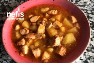 Patates Sulusu Tavuklu Tarifi
