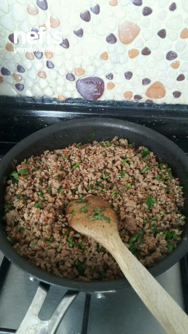 Salatalık İle İçli Köfte Yapımı(Çok Kolay)