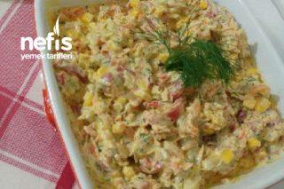Yoğurtlu Sebze Salatası Tarifi