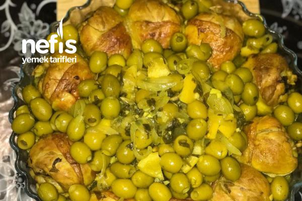 Zeytinli Tavuk (Poulet Aux Olives) Tarifi