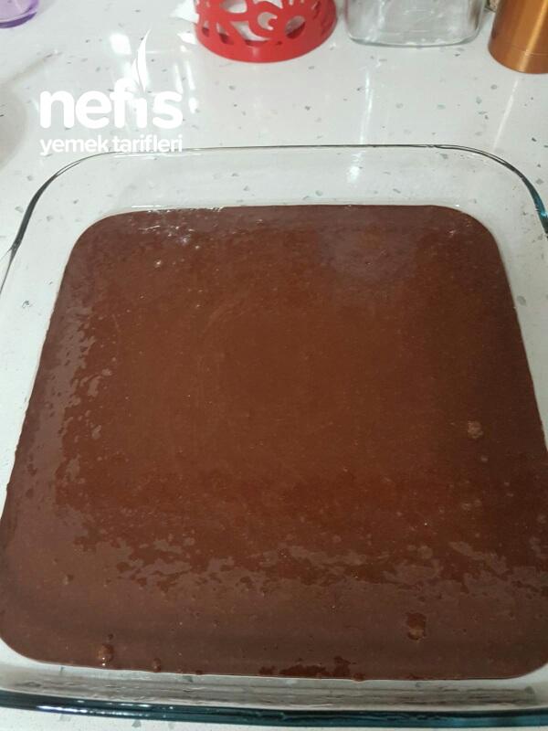 Çikolatakolikler İcin Duble İslak Kek