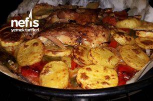 Fırında Bagetli Patates Tavası Tarifi