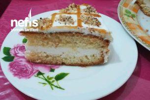 Krem Şantli Pasta Tarifi