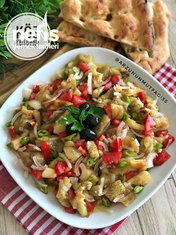 Köz Patlıcanlı Çoban Salata