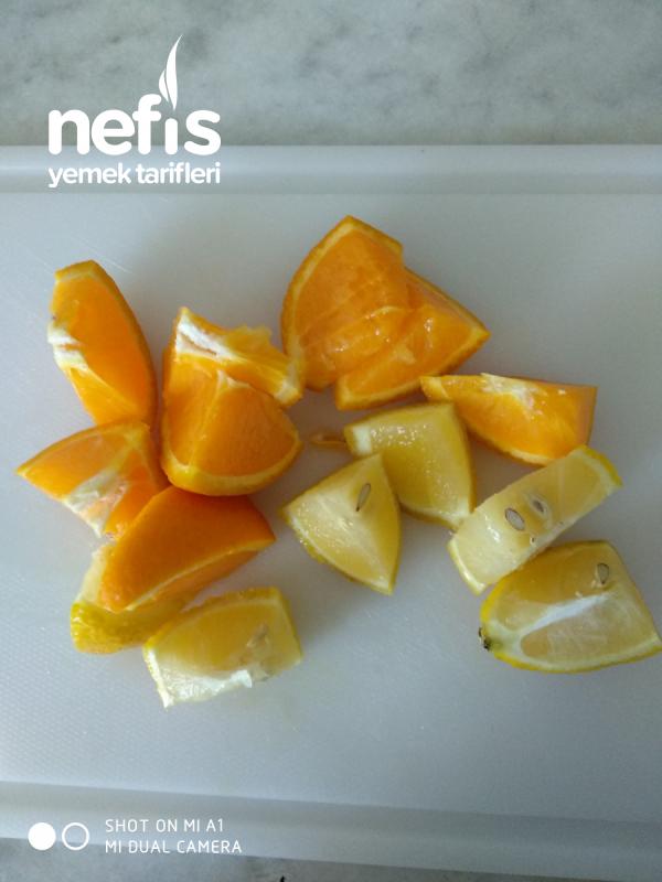 Limonata (yarım Portakal Ve Yarım Limon İle 3litre)