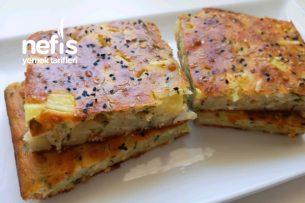 Patatesli Peynirli Tuzlu Kek Tarifi