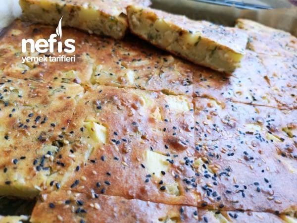 Patatesli Peynirli Tuzlu Kek