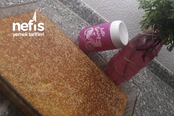 Sütsüz Yoğurtsuz Portakal Sulu Kek Tarifi