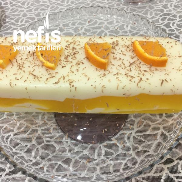Vanilya Ve Portakalı Sütlü Tatlı