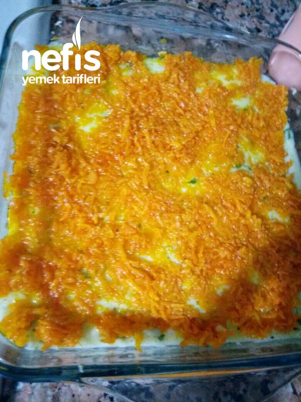 Yoğurtlu Patatesli Havuçlu Salata