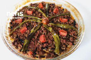 Fırında Bol Kıymalı Patlıcan Kebabı Tarifi
