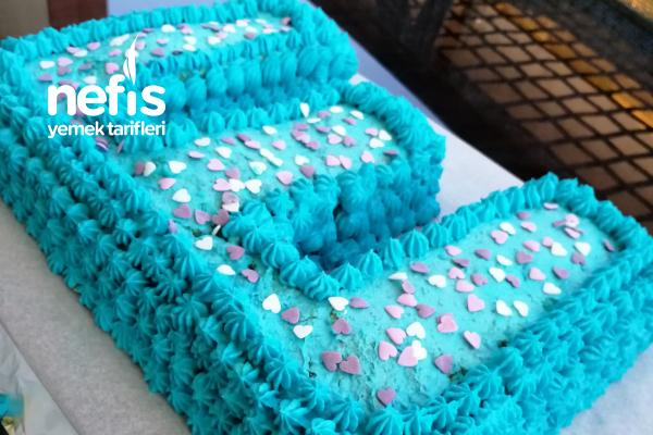 Harfli Doğum Günü Pastası Tarifi