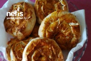 Patatesli Gül Börek Tarifi