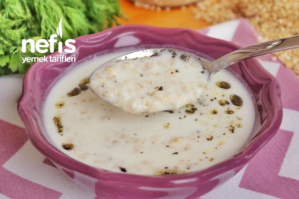 Soğuk Yarma Çorbası ( Amasya )