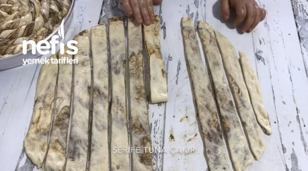 Tel Tel Haşhaşlı Burma Çörek (videolu)
