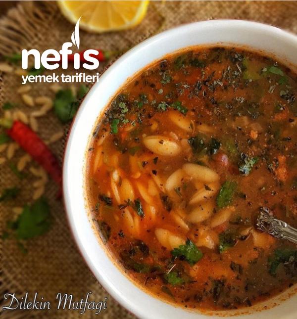 Arpa Şehriyeli Sebze Çorbası(mutlaka Deneyin)