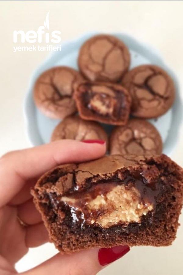 Fındık Ezmeli&nutellalı Mini Brownie