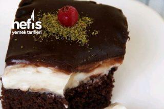 Islak Kekli Bol Çikolatalı Pasta Tarifi