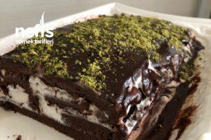 Pişmeyen Çikolatalı Rulo Pasta Tarifi