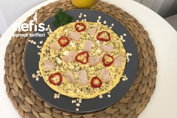 Sahur İçin Tok Tutan Metabolizma Hızlandıran Omlet